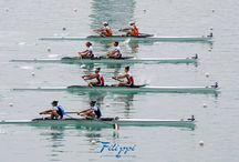 Rowing start line
