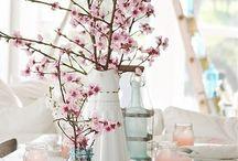 table arrangements...