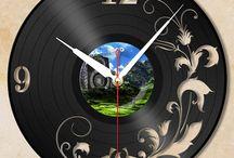 Fűrész, hanglemez órák
