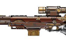 Seampunk Guns