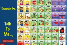 Talk To Me 100® / A powerful tool for children who are learning to talk.  An interactive teaching device allows the child to touch, see, hear and speak words, understand their meaning and experience the joy of communication.  The Instructional CD expands strategies for partner assisted communication.  Have fun learning to talk together!