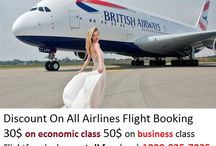 Flight Fare Deals / Why not book cheapest airline tickets for all destination 30$ Off On Economic Class and 50$ On Business Class Call toll free(Usa).. 1800-825-7035 Top USA Consolidator- Flightfaredeals.com
