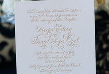 Wedding Invitations / by Allie Yost