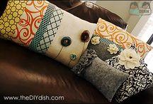 Pillows / by Keith and Juanita Upchurch