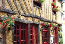 Maisons - jolies façades