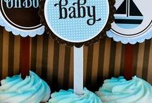 chá de bebê menino / by Clube da Joaninha ♥♥