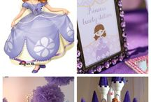 Sofia the First Party / party ideas for a Sofia the first theme party / by Susan Koh