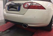 Jaguar XK / scarico #topqualityexhaustsystem by RPgarage