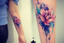kwiat tatoo
