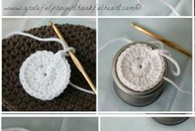 Crochet cosy for Jars and Cans