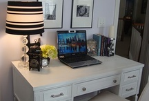 desk ideas / by Hannahjo Campbell