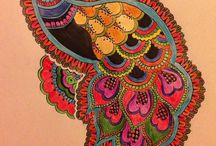Mandala Madness / My new addiction to mandalas. Designs I find & some I print & colour. May design my own soon