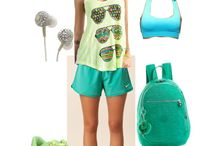 She's hot & sporty / Picking summer sports wear since I'm moving to summer lands - S.E. Asia! :D