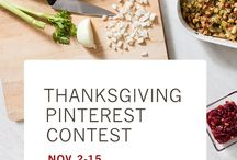 #ThanksKitchen - Thanksgiving Pinterest Contest / Soup Spice Everything Nice - Thanksgiving Must Haves