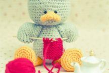 tricot peluche / Peluche au crochet