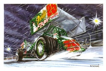 Christmas Cards / Merry Christmas from the Sprint Car Capital of the World! / by Knoxville Raceway