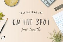 Oh The Spot Font Bundle