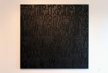 RETNA: Ink, brush and letters. / by Drew Barillas