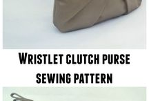 pleated pouch/bag
