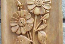 Fleur sculpture