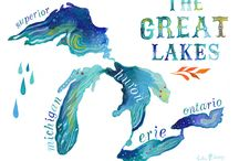 ⛵ The Great Lakes ⛵ / In partnership with our travel board, we also wanted to pay tribute to the beautiful Great Lakes that cover part of our amazing state. If you wonder what we do on the weekends, seeing sites like these are at the top of the list! #Michigan #travel #outdoors