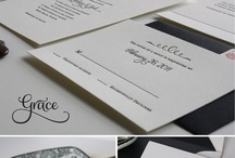 More White Grey & Black Invitations / by Lelian Chew