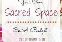 sacred space ideas