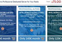 Dedicated Radio Server / Dedicated Radio Server - Professional Hosting