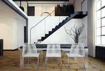 Modern lakás belsőépítészet