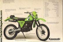 Kawasaki Enduro Bikes