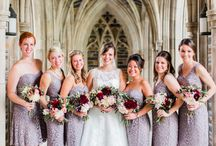 Bridesmaid Bouquets by Pine State Flowers