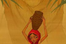 indienne dessin