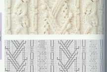 Vzorečky na pletení