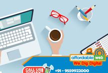 Affordable Web / We offering services in, Domain Registration, Hosting, Cloud Server, Website Designing, Web Development, Graphic Designing, Logo Designing, Social Media Marketing, Digital Marketing, Mobile Apps, CMS, eCommerce, Website Planning, SEO, Wordpress Customization, Opencart Customization, Information Architecture in India.