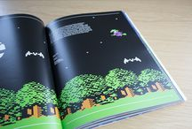 Commodore 64: A visual commpendium / http://www.funstock.co.uk/commodore-64-a-visual-commpendium-c64-book  Celebrates the visual side of the glorious Commodore 64 (aka C64) computer and Commodore 64 games. Each spread features a beautiful image and a select few words (these carefully considered comments vary from games facts, a mini review and even quotes from the original developer).