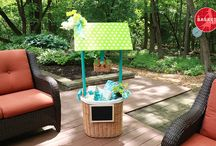 Wishing Wells / Make beautiful wishing wells perfect for any baby shower or bridal shower using Basket Lady baskets!