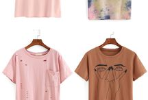 T-shirts and tops