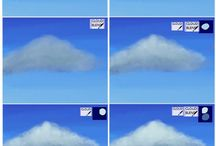 Realistic  clouds.