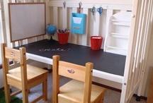 DIY Preschool Learning Spaces