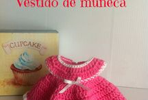 vestidos muñecas