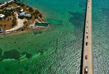 Monroe County, Florida / The Florida Keys are a coral cay archipelago in the southeast United States. / by Joann