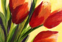 Acrylic Flowers
