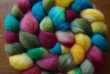 Spinning Fiber/Making Yarn / by Shellie Falk