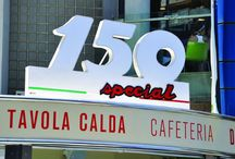 Tavola Calda Cafe 150 Special / Design of Italian Tavola Calda / Cafe Kiosk – tribute to Italian Iconic Legend – The Vespa 150 Special.