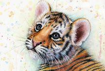 Art - Cats - Big