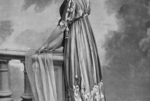 1912 evening dress research