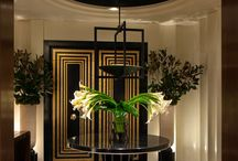 Art Deco Interiors / Bring history back to life in your home with Art Deco features.