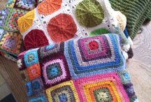 KNIT - Granny Mania / Granny squares creations