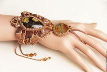 Micromacrame jewelry / macrame jewelry