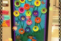 decoración puertas